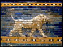 Lion on the Ishtar gate of Babylon